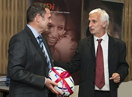 Dr David Reddy, CEO, MMV and Dr Bernard Pécoul, CEO, DNDi